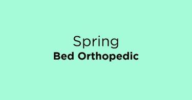 Spring Bed Orthopedic