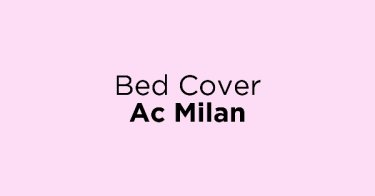 Bed Cover Ac Milan