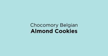 Chocomory Belgian Almond Cookies