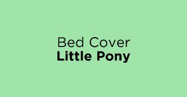 Bed Cover Little Pony