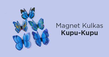 Magnet Kulkas Kupu Kupu