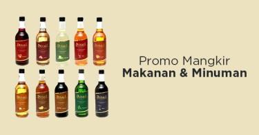 Promo Mangkir Makanan & Minuman