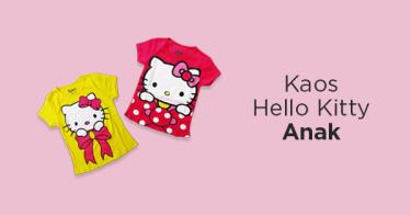 Kaos Hello Kitty Anak