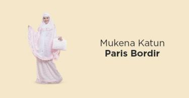 Mukena Katun Paris Bordir