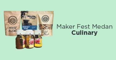 Maker Fest Medan Culinary
