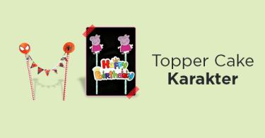 Topper Cake Karakter