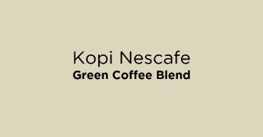 Kopi Nescafe Green Coffee Blend