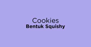 Cookies Bentuk Squishy