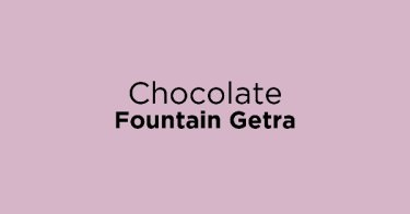 Chocolate Fountain Getra