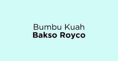 Bumbu Kuah Bakso Royco
