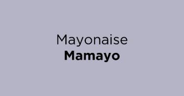 Mayonaise Mamayo