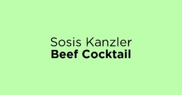 Sosis Kanzler Beef Cocktail