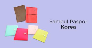 Korean Passport Cover