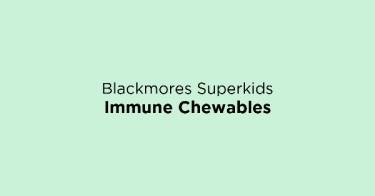 Blackmores Superkids Immune Chewables