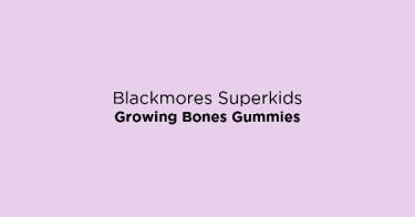 Blackmores Superkids Growing Bones Gummies