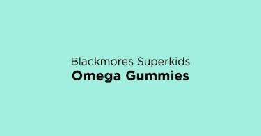 Blackmores Superkids Omega Gummies