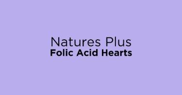 Natures Plus Folic Acid Hearts