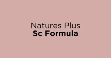 Natures Plus Sc Formula