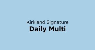 Kirkland Signature Daily Multi