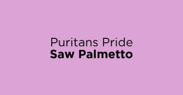 Puritans Pride Saw Palmetto