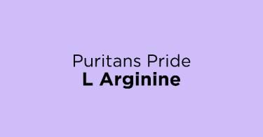 Puritans Pride L Arginine
