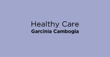 Healthy Care Garcinia Cambogia