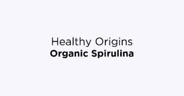 Healthy Origins Organic Spirulina