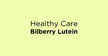 Healthy Care Bilberry Lutein