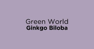 Green World Ginkgo Biloba