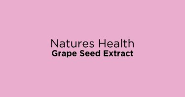 Natures Health Grape Seed Extract