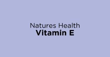 Natures Health Vitamin E