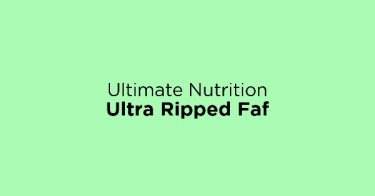 Ultimate Nutrition Ultra Ripped Faf