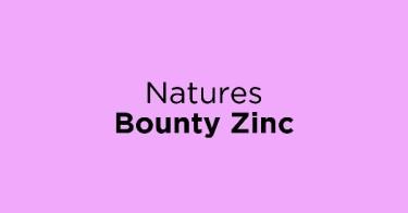 Natures Bounty Zinc