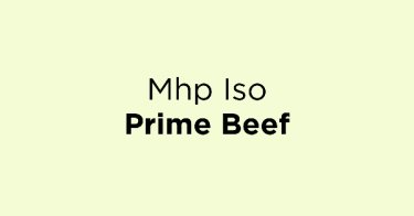 Mhp Iso Prime Beef