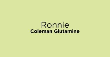 Ronnie Coleman Glutamine