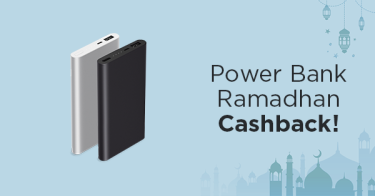 Power Bank Ramadhan Cashback!