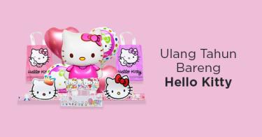 Perlengkapan Ulang Tahun Hello Kitty