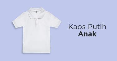 Kaos Putih Anak