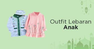 Outfit Lebaran Anak