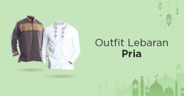 Outfit Lebaran Pria