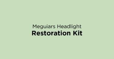 Meguiars Headlight Restoration Kit