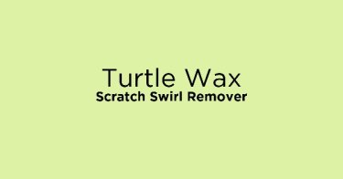 Turtle Wax Scratch Swirl Remover