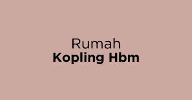 Rumah Kopling Hbm