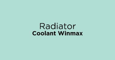Radiator Coolant Winmax