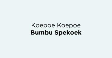 Koepoe Koepoe Bumbu Spekoek