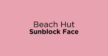 Beach Hut Sunblock Face