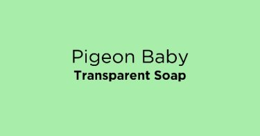 Pigeon Baby Transparent Soap