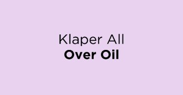 Klaper All Over Oil