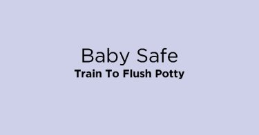 Baby Safe Train To Flush Potty