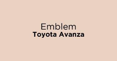 Emblem Toyota Avanza